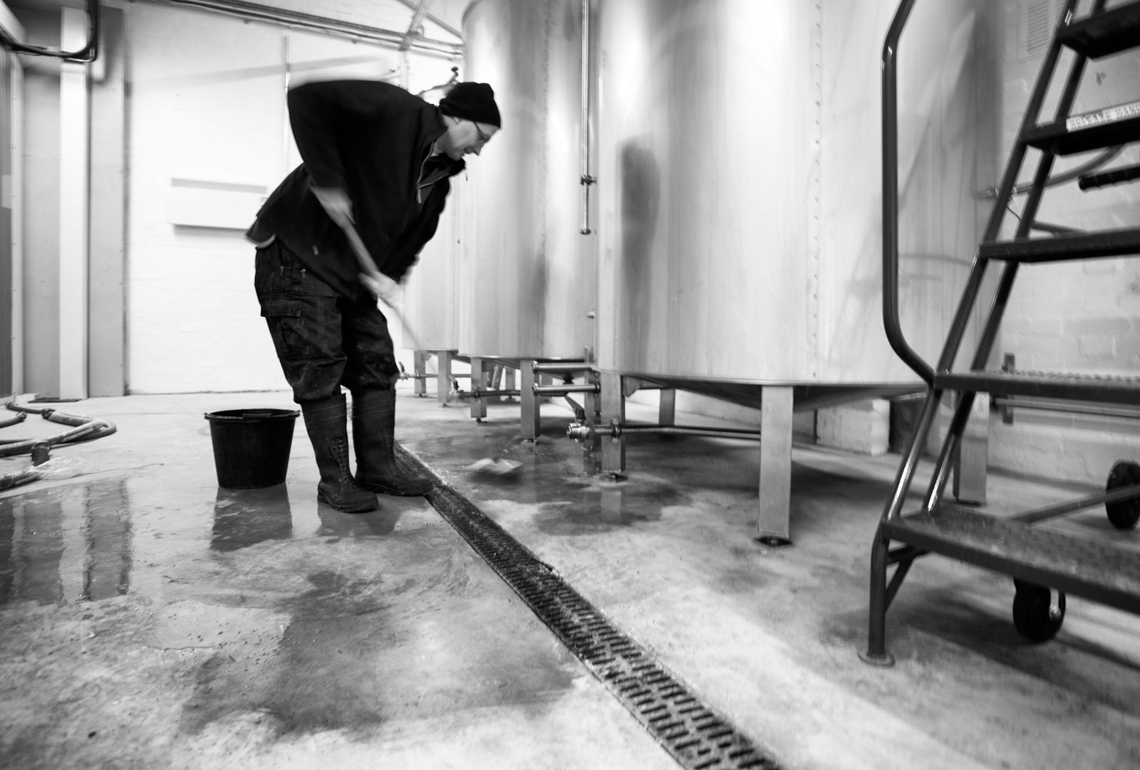 Brewery clean