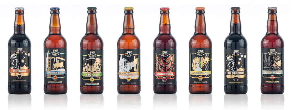 Byatt's bottle beers